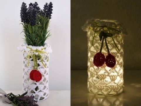 DIY Vase/Windlicht alle Größen Sommertraum Design No.4 bei Makerist sofort runterladen