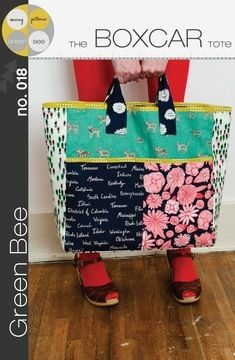 Download Boxcar Tote - Sewing Patterns immediately at Makerist