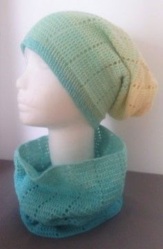 "Download Crochet Pattern Loop and Long Beanie ""Two in One"" - Crochet Patterns immediately at Makerist"