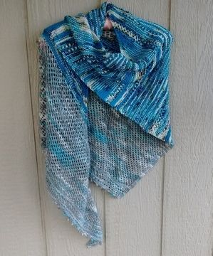 Download Chicago Field Trip Shawl knitting pattern - Knitting Patterns immediately at Makerist
