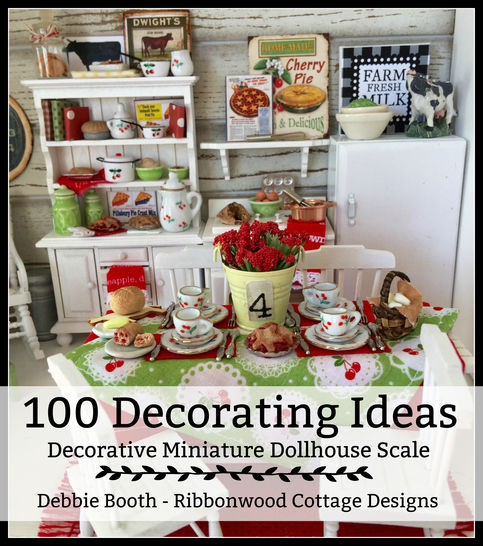 Download 100 Decorating Ideas for Miniature Dollhouses Budget Friendly - Sewing Patterns immediately at Makerist