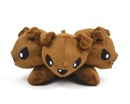 Download Cerberus Fluffy Monster Dog Plush Sewing Pattern - Sewing Patterns immediately at Makerist