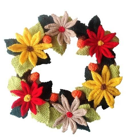 Download A Merry Christmas Wreath immediately at Makerist