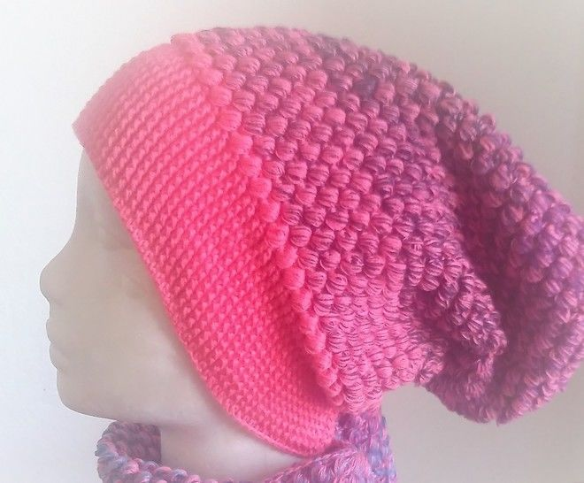 "Download Crochet Pattern Long Beanie ""Bee"" - Crochet Patterns immediately at Makerist"
