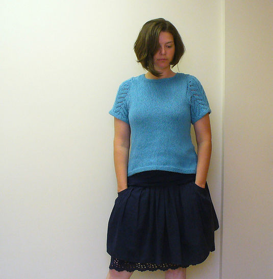 Download A Tee recipe knitting pattern - Knitting Patterns immediately at Makerist