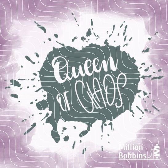 Plottdesign 'Queen of Chaos' - Plotterdateien bei Makerist sofort runterladen