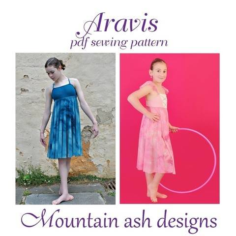 Download Aravis Leotard Dance Costume Pattern in Girls Sizes 2-14 immediately at Makerist