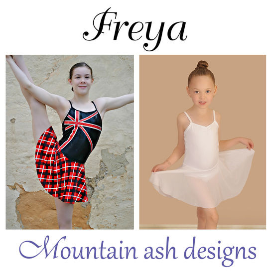 Download Freya Dance Costume and Leotard in Girls Sizes 2-14 - Sewing Patterns immediately at Makerist