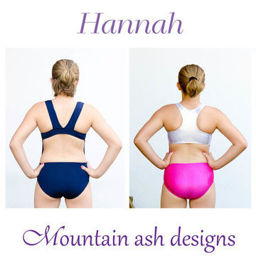 Download Hannah Racer Back Swimsuit and Leotard Sewing Pattern in Girls Sizes 2-14 - Sewing Patterns immediately at Makerist