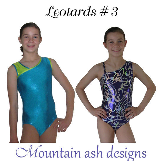 Download Leotards #3 Sewing Pattern in Girls Sizes 2-14 - Sewing Patterns immediately at Makerist