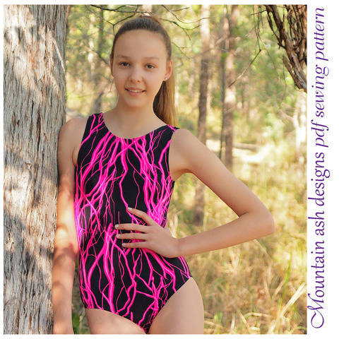 Download Leotards #9 Ladies Leotard Sewing Pattern in Ladies Sizes immediately at Makerist