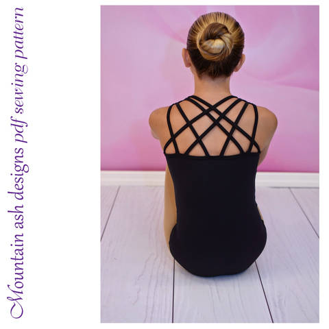 Download Leotards #11 Strappy Back Leotard, Sizes 2-14 immediately at Makerist