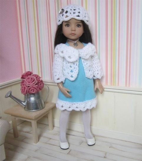Download Frost : crochet outfit for Little Darling Effner Doll - Crochet Patterns immediately at Makerist