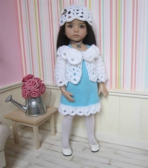 Download Frost : crochet outfit for Little Darling Effner Doll immediately at Makerist