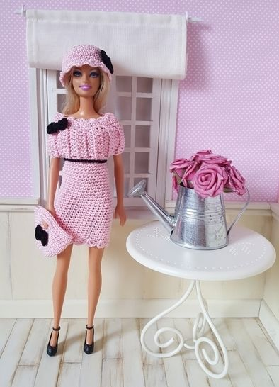 Maddy Crochet Outfit For Barbie Doll