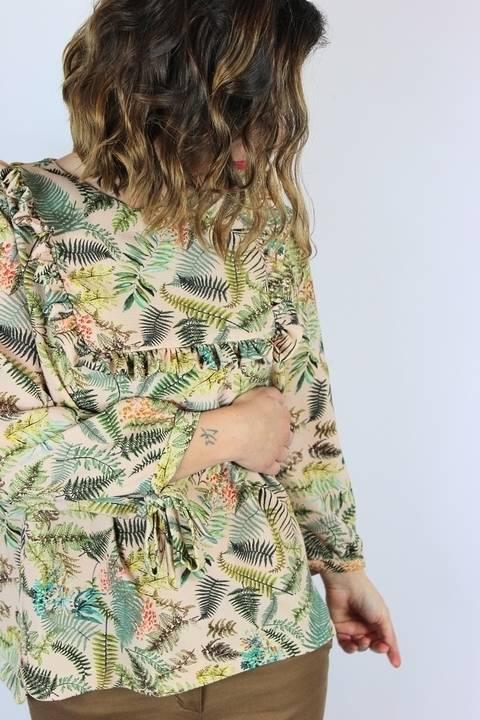 Télécharger Bonus Manches patron top Jolanda - de la taille 38 à la taille 50 (tailles italiennes) - Couture - Patron PD tout de suite sur Makerist
