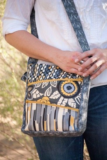 Download Zippy Bag Sewing Pattern - Jen Fox Studios - Sewing Patterns immediately at Makerist