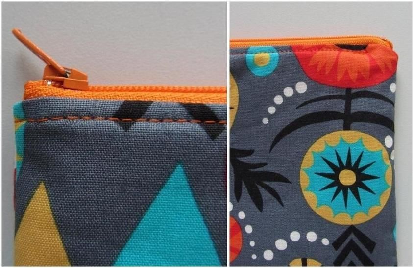 Perfect Zip Pouch Pattern Zipper Bag Tutorial Sewing Pouches