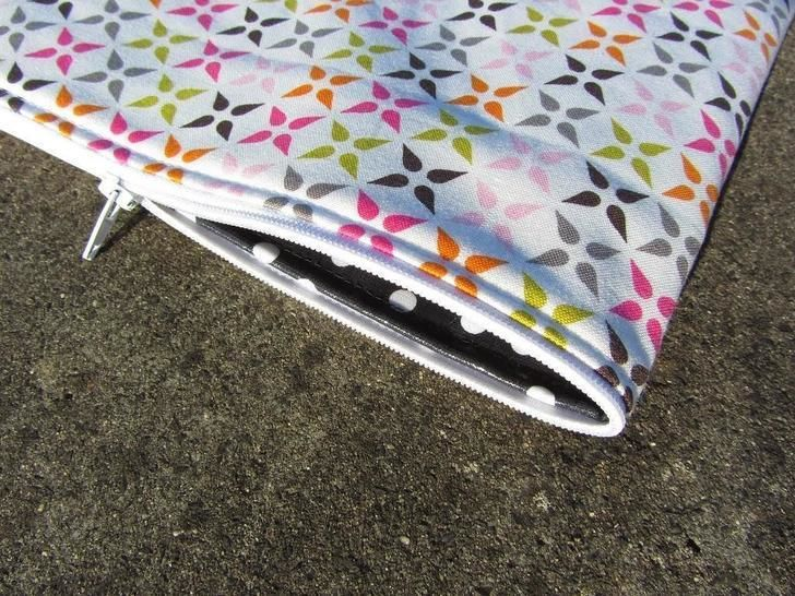 Download Perfect endless zipper pouch - for zip pouches sewing cosmetic bag - Sewing Patterns immediately at Makerist