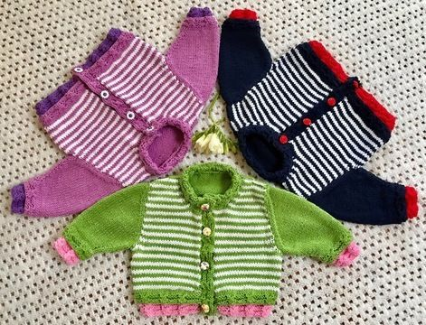 Download Kensington 3-6 months Baby Cardigan - Knitting Patterns immediately at Makerist