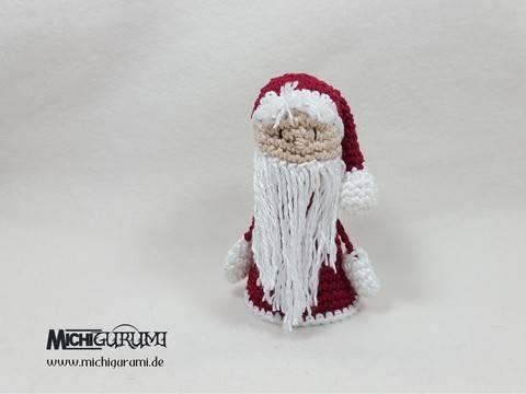 Häkelanleitung Weihnachtsmann (DE) bei Makerist sofort runterladen