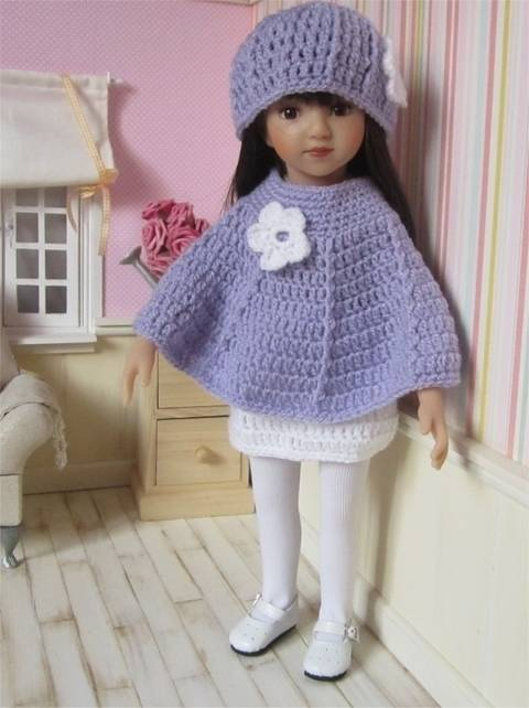 Download Snowdrop : crochet outfit for 32-34 cm doll immediately at Makerist