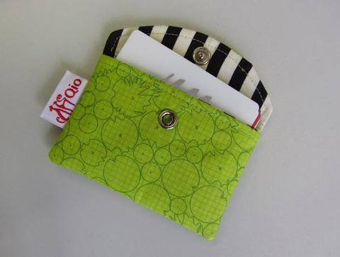 Download Snappy Business Card Pouch - Card Holder sewing bag credit cards immediately at Makerist