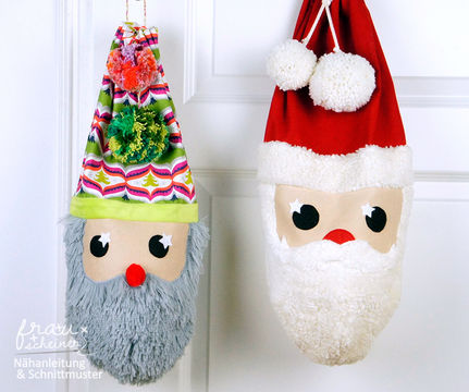 Download Santa sack sewing instruction and pattern - Sewing Patterns immediately at Makerist
