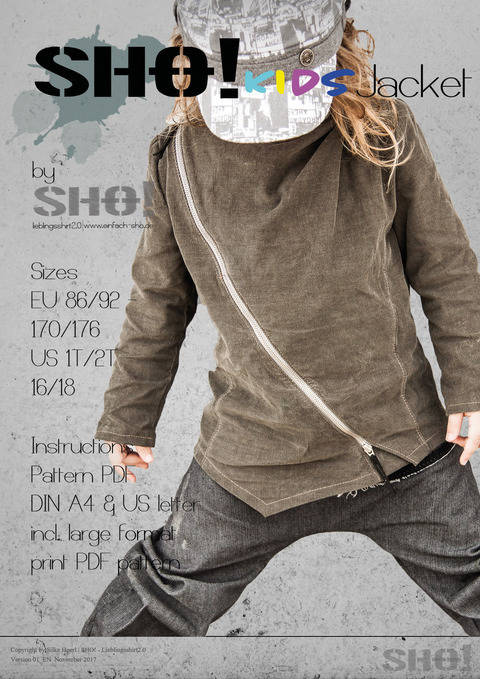 Download SHO! KIDS Jacket - a jacket for cool kids immediately at Makerist