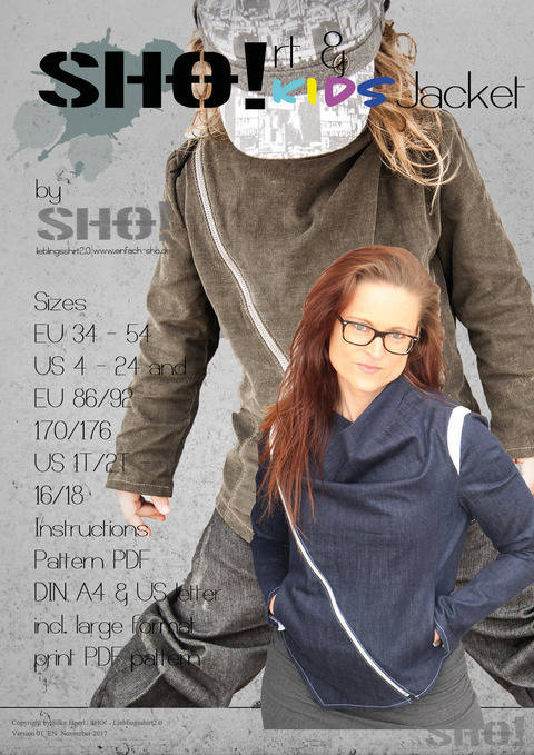 Download SHO!rt Jacket & SHO! KIDS Jacket bundle immediately at Makerist