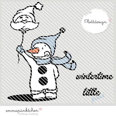 emmapünktchen ® - little snowman & friend plottdesign bei Makerist sofort runterladen
