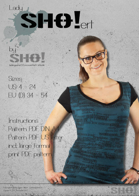 Download lady SHO!ert - a slimfit basic shirt immediately at Makerist