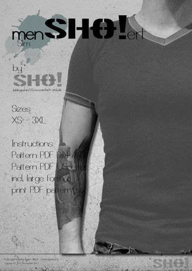 Download menSHO!ert slim - a slimfit basic shirt pattern immediately at Makerist