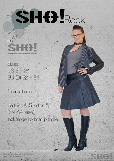 Download SHO!Rock - a pleated skirt immediately at Makerist