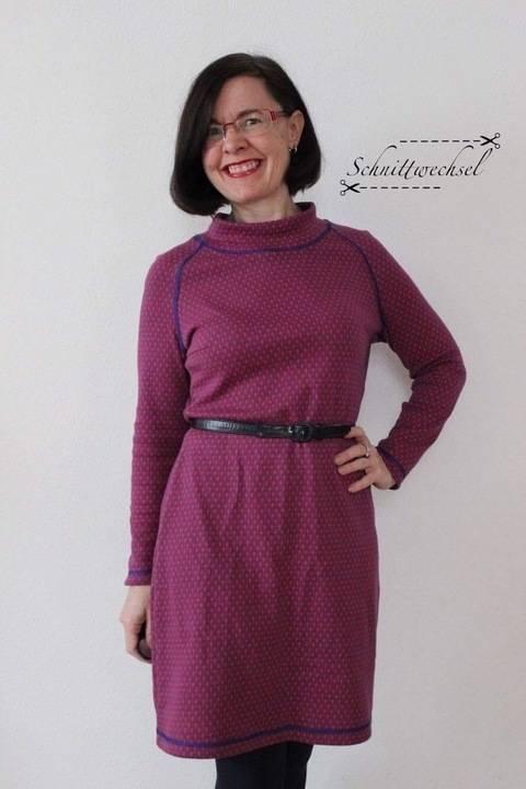 Kleid Petite-Susi Gr. 48-52, PDF-Schnittmuster A4, A0 und Nähanleitung bei Makerist sofort runterladen