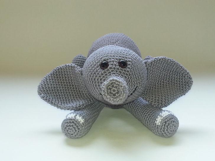 Elefant Emilio - Häkelanleitung - Häkelanleitungen bei Makerist sofort runterladen