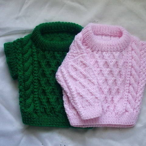 Download Baby and toddler sweater and pullover - knitting pattern immediately at Makerist