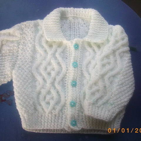 Download Fiachra baby and toddler cardigan - knitting pattern immediately at Makerist