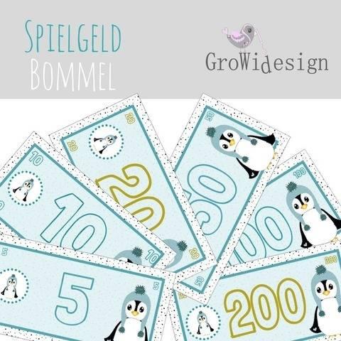 KInderspielgeld Bommel  Print, DigiStamp bei Makerist sofort runterladen