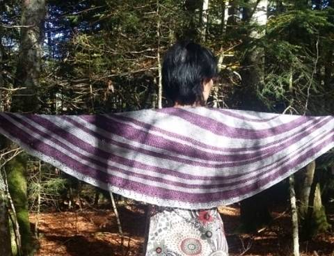 Download Hermes shawl (eng.) immediately at Makerist