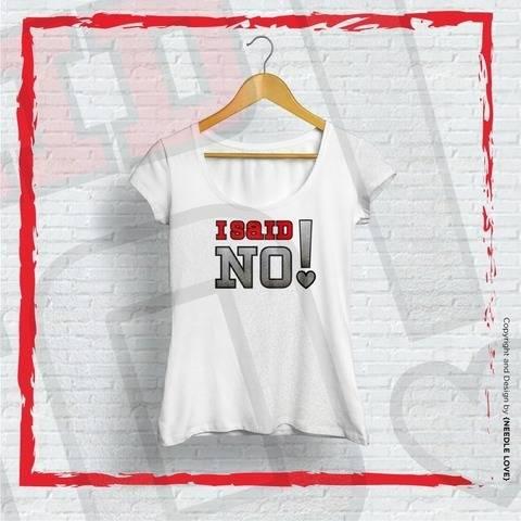 Plotterdatei I SAID NO! bei Makerist sofort runterladen