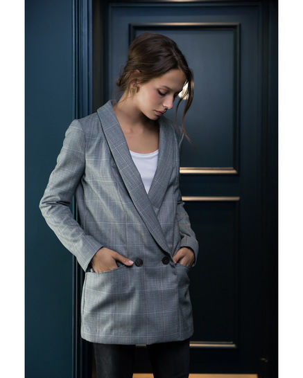 AMSTERDAM blazer - sewing pattern with detailed instructions (en) bei Makerist sofort runterladen