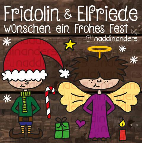 Plotterdatei Fridolin & Elfriede bei Makerist sofort runterladen