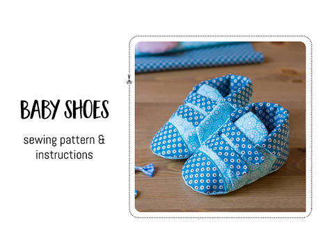 Download Baby shoes immediately at Makerist