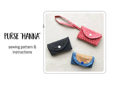 "Download Purse ""Hanna"" immediately at Makerist"