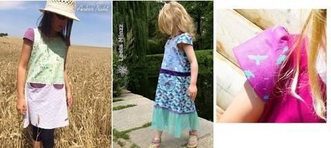Ebook-Ergänzung OliVera Kleidchenlänge Käppchenärmel  bei Makerist sofort runterladen