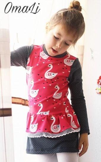 """eBook Shirt/Kleid """"Miss Peplum"""" von Lennähna Größen 86 - 170 bei Makerist sofort runterladen"""