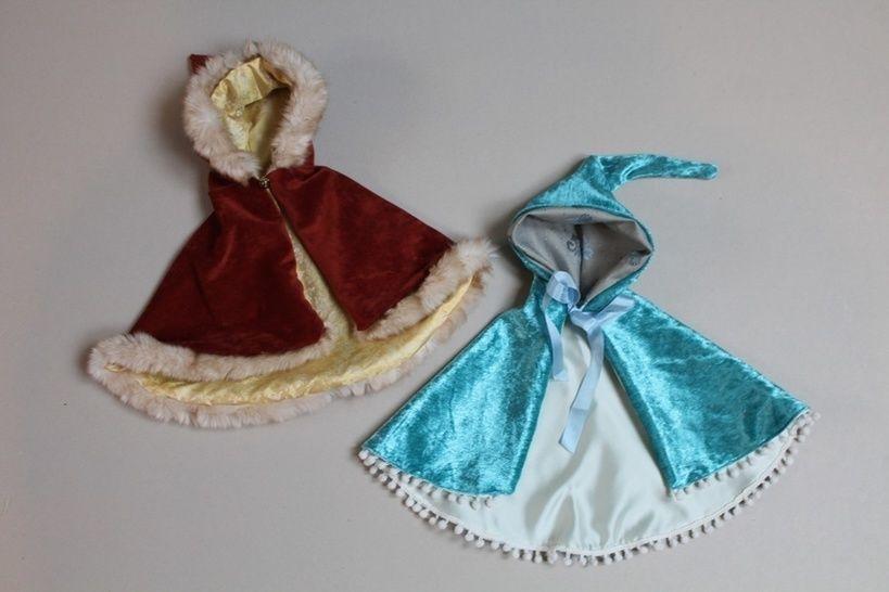 PRINCESS Puppen Umhang 3 Größen bei Makerist sofort runterladen