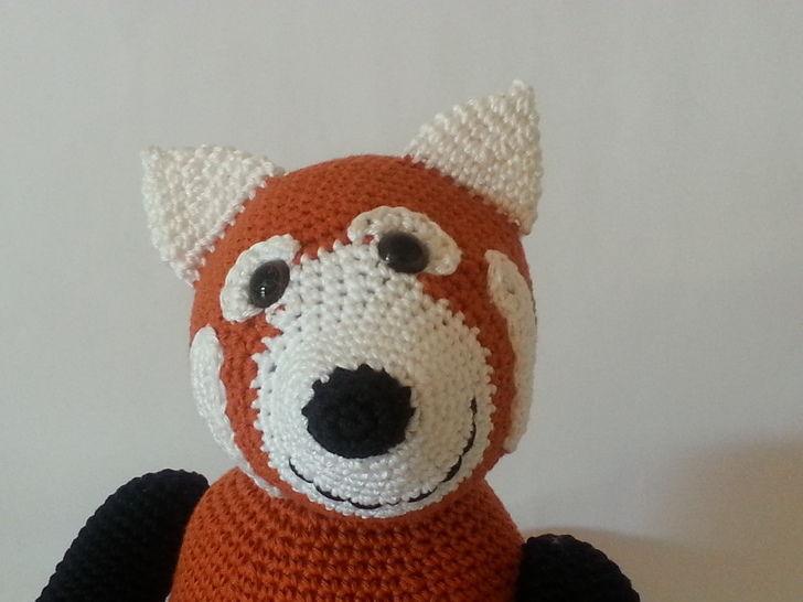 Panda Pedro - Häkelanleitung - Häkelanleitungen bei Makerist sofort runterladen