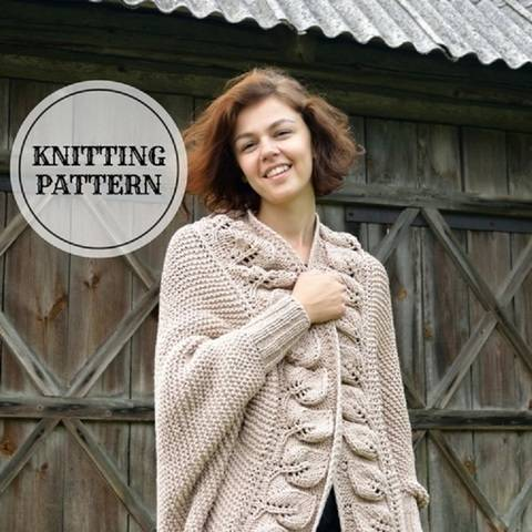 Download Cappuccino Cardigan immediately at Makerist